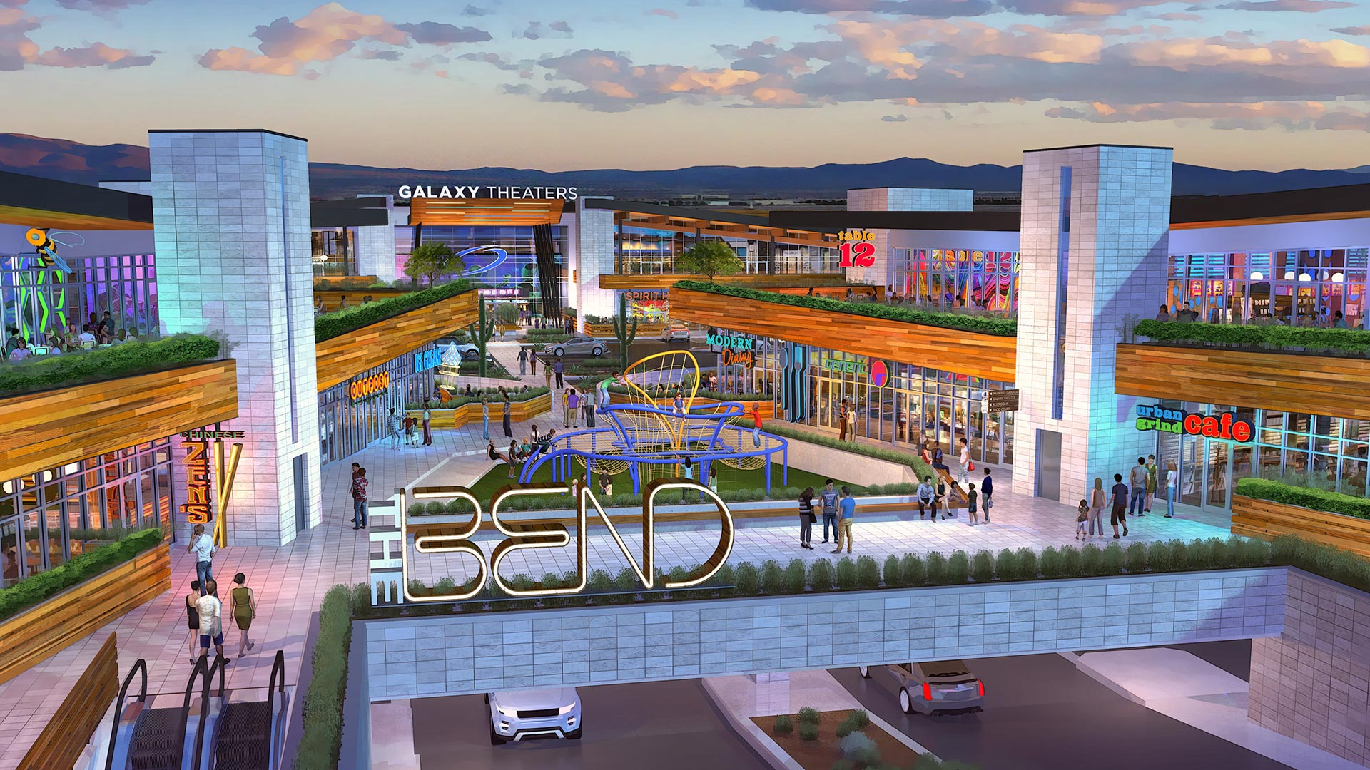 The Bend Las Vegas | Rendering A