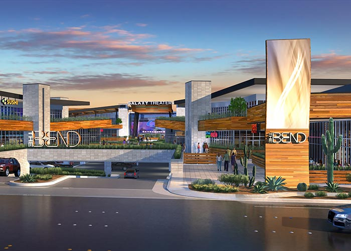 The Bend Las Vegas | Street Rendering